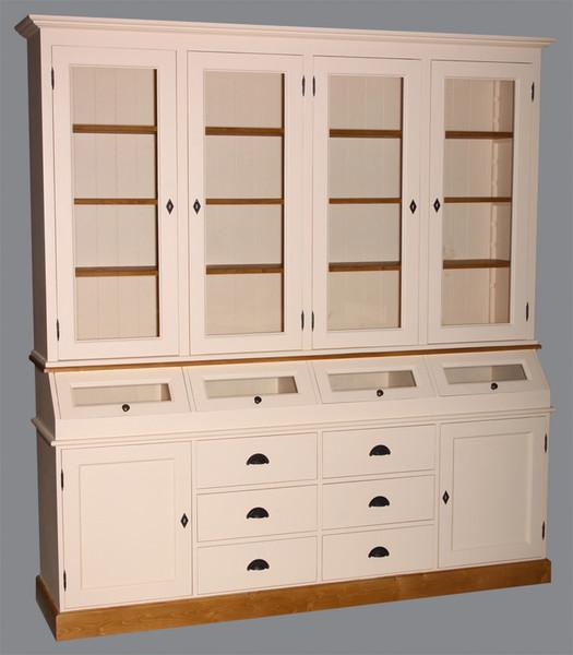 Wood stock cuisine d 39 autrefois for Meuble cuisine sur mesure en ligne